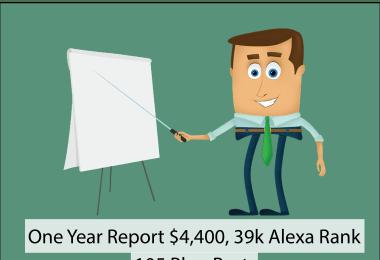 One Year Report MoneyGossips