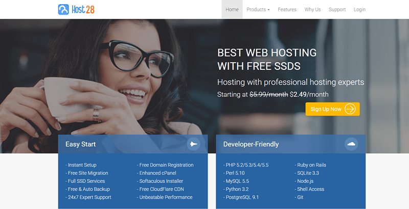Host28 Linux Web Hosting