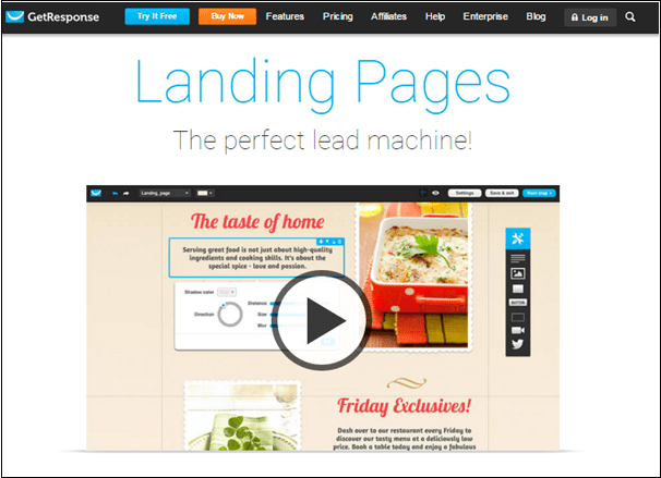 GetResponse Landing Pages - GetResponse Vs LeadPages