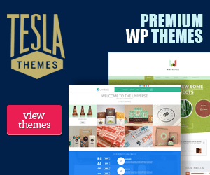 Tesala Theme Banner Ad