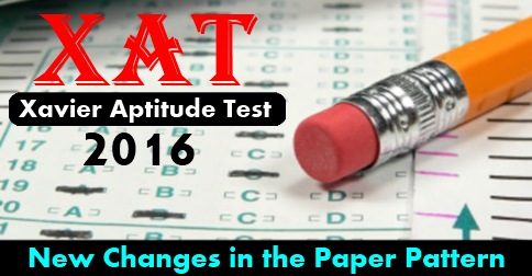 XAT 2016 New Changes