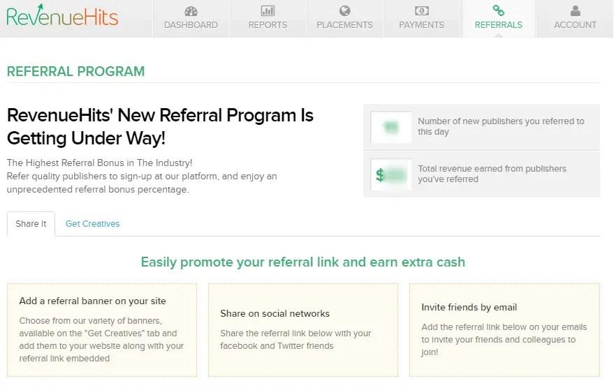 RevenueHits Affiliate Program