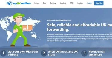 MyUKMAILBOX Review How to get UK Street Address