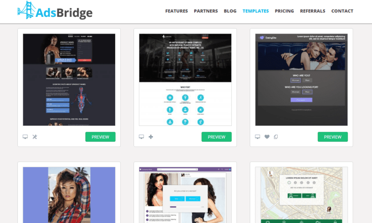 Adsbridge review Templates