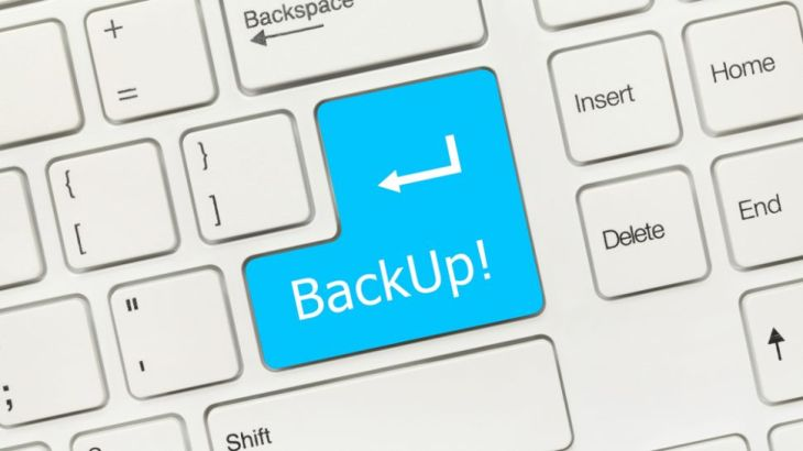 Do Necessary Backup