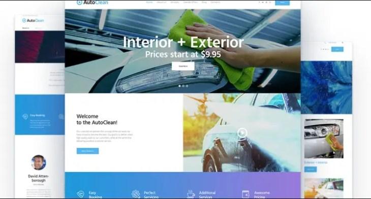 Autoclean WordPress Theme