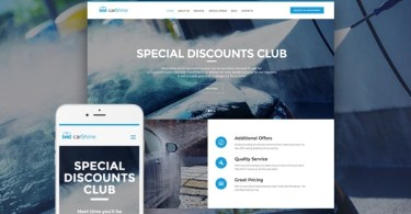 Carshine WordPress Themes
