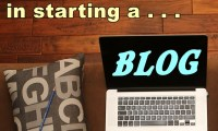 Money reasons for starting a blog and how to do it.
