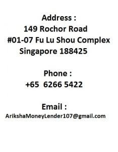 Moneylender Rochor