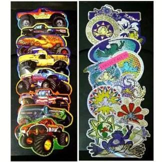 Bulk Vending Sticker & Tattoo Supplies