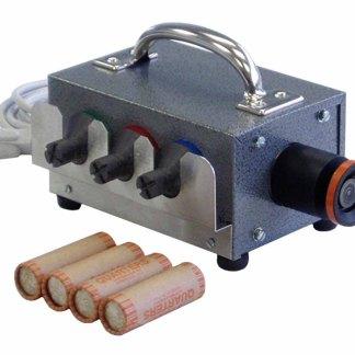 Electric Coin Tube Crimper Machines