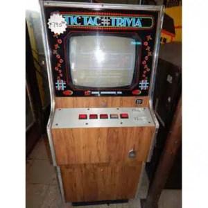 Merit Tic Tac Trivia Arcade Game   moneymachines.com