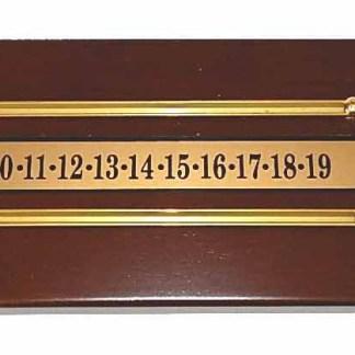 Shuffleboard Table Score Boards