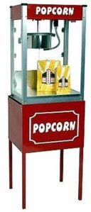 Thrifty Pop 8 Ounce Popcorn Popper and Stand Combo | moneymachines.com