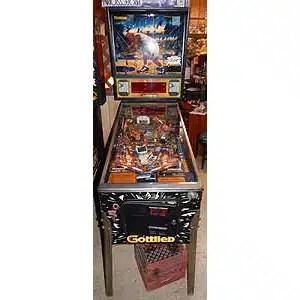 Used Gottlieb Shaq Attaq Pinball Machine | moneymachines.com