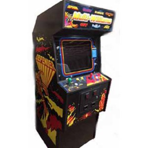 Williams Multi-Game In Defender Cabinet | moneymachines.com