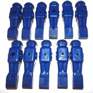11 Blue Old Style Dynamo Foosball Men