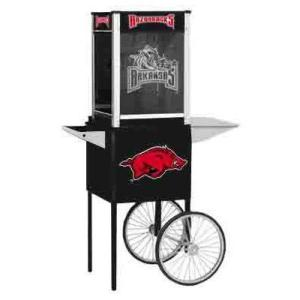 Arkansas NCAA College Logo Popcorn Machine | moneymachines.com