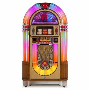 Crosley CR1208A-OA Slimline CD Full Size 1015 Jukebox | moneymachines.com