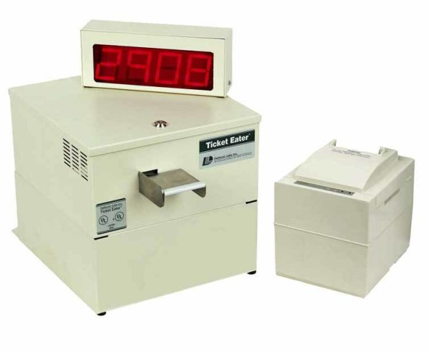 Deltronic Labs DL9000 Table Top Ticket Eater/Counter With Printer | moneymachines.com