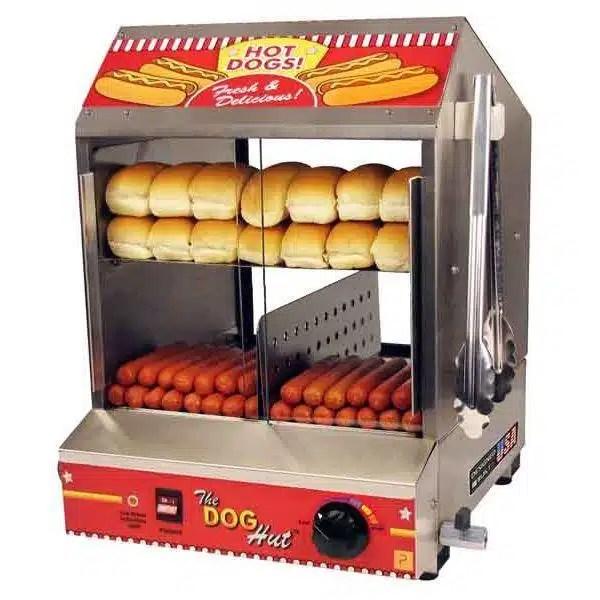 Dog Hut Commercial Hot Dog Steamer Machine   moneymachines.com