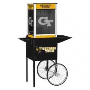 Georgia Tech NCAA College Logo Popcorn Machine | moneymachines.com