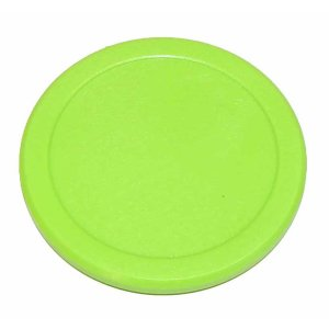Green Dynamo 2 1/2 Inch Air Hockey Puck | moneymachines.com