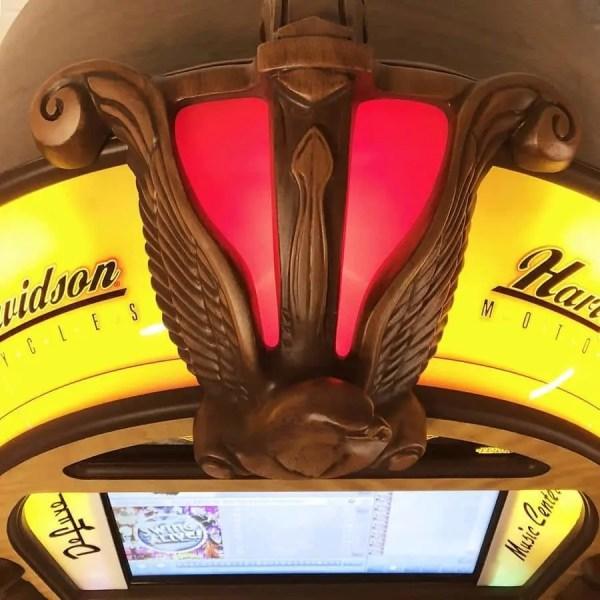 Harley Davidson Jukebox Top
