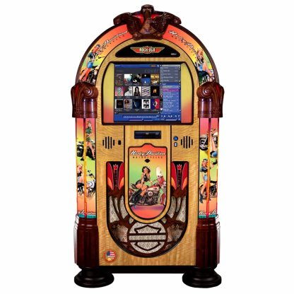 Rock-Ola Harley Davidson American Beauties MC (Music Center) Digital Jukebox | moneymachines.com