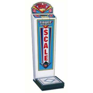 High Tech Coin Operated Weight Scale   moneymachines.com