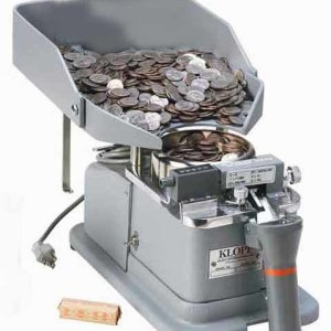 Klopp CEB Electric Bagging Only Coin Counter | moneymachines.com