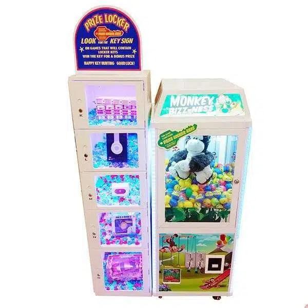 Monkey Bizz-ness With Prize Side Box | moneymachines.com