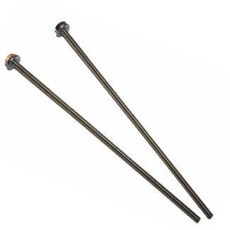 2 Short Globe Rods For Oak Acorn   moneymachines.com