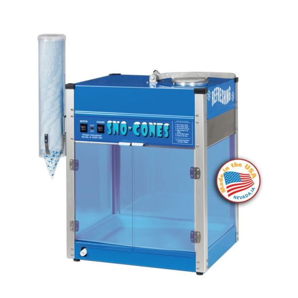Paragon Blizzard Snow Cone Machine   moneymachines.com