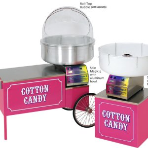 Paragon Cotton Candy Machines On Stands | moneymachines.com