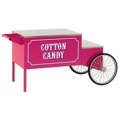 Paragon Large Pink Cotton Candy Cart | moneymachines.com