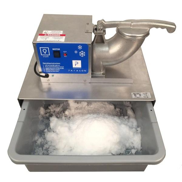 Paragon Port-A-Blast Snow Cone Machine open | moneymachines.com
