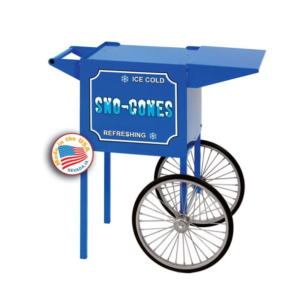 Paragon Small Blue Snow Cone Cart | moneymachines.com