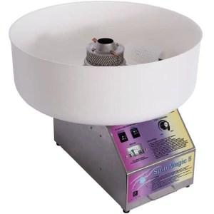 Paragon Spin Magic 5 Cotton Candy Machine with Plastic Bowl | moneymachines.com