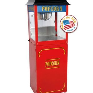 Red Paragon 1911 8 Ounce Popcorn Machine and Base Stand | moneymachines.com