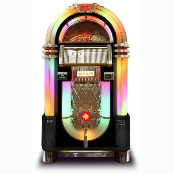 Rock-Ola Bubbler CD Jukebox   moneymachines.com