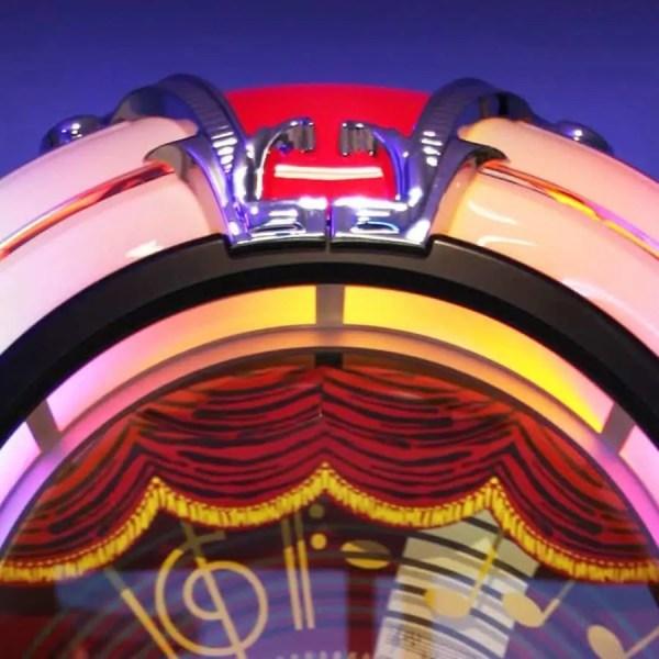 Rock-Ola Bubbler CD Jukebox top