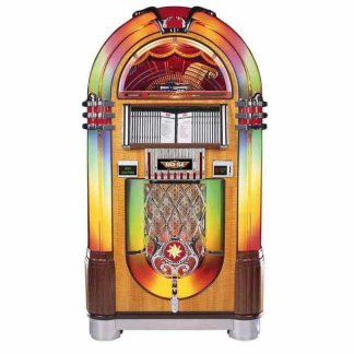 Rock-Ola Bubbler CD Jukebox | Walnut Finish | moneymachines.com