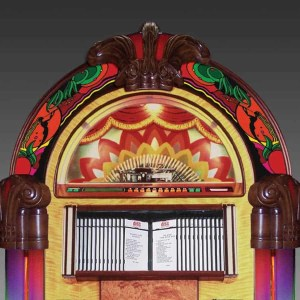Rock-Ola Bubbler Gazelle CD Jukebox Top | moneymachines.com