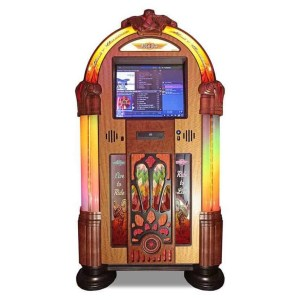 Rock-Ola Bubbler Harley Davidson Music Center Jukebox | moneymachines.com