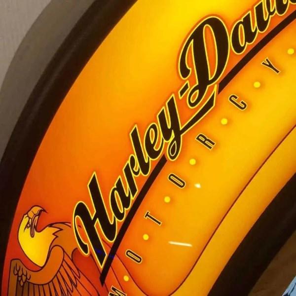 Rockola Harley Davidson Close Up Detail | moneymachines.com