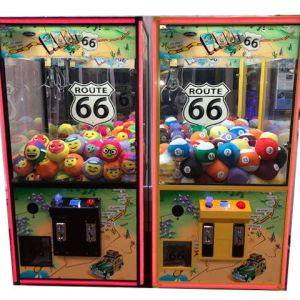 "Route 66 Nostalgic 36"" Crane Game Machines   moneymachines.com"