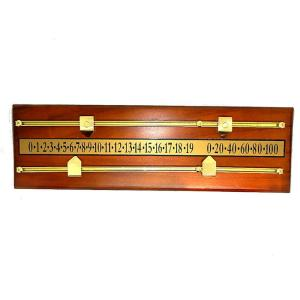 Deluxe Billiard and Shuffleboard Table Score Board | moneymachines.com