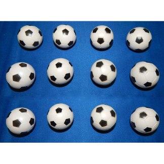 12 Checkered Soccer Balls   moneymachines.com