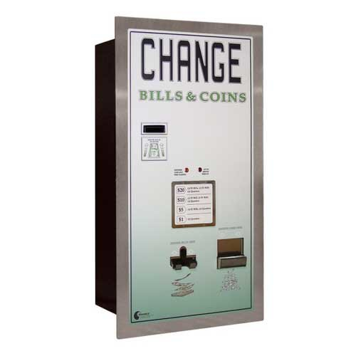 Standard Change Makers BCX2020RL Rear Loading Combination Bill Coin Change Machine | moneymachines.com